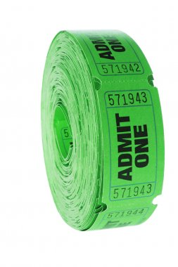 Roll of Movie Tickets