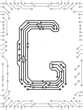 Alphabet of printed circuit boards