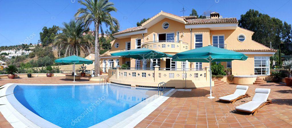 Large expensive luxury villa in Spain