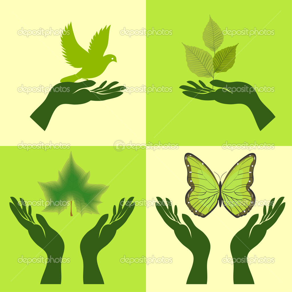 Nature Icons. Vector