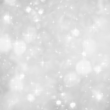 Silver Sparkles background christmas. Vector