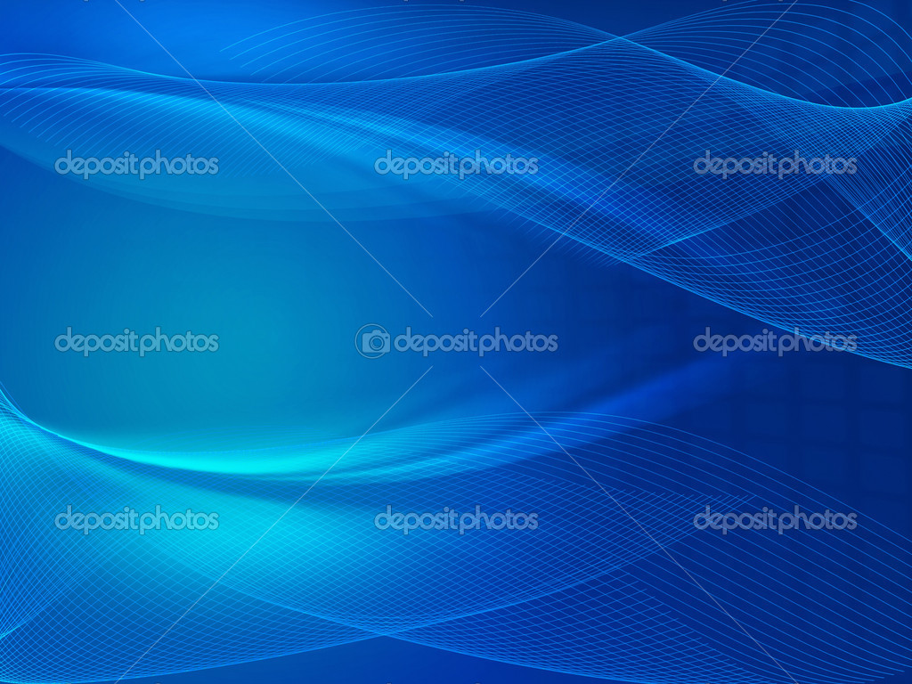 Blue background with net