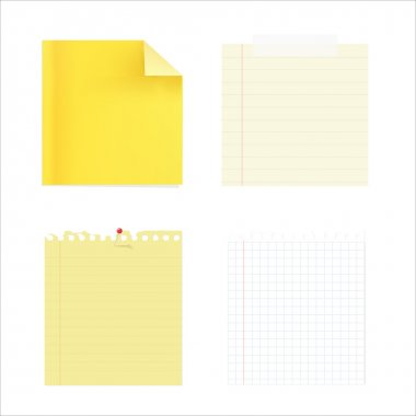 Сollection Of Note Papers