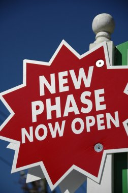 Realty Sign New Phase Open