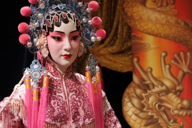 Chinese opera dummy ,it is a toy,not real man