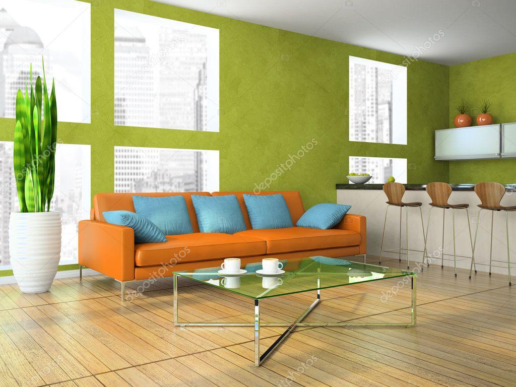 Soggiorno parete verde giardino verticale per interni con fiori e