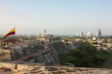 San Felipe de Barajas castle. Cartagena, Colombia