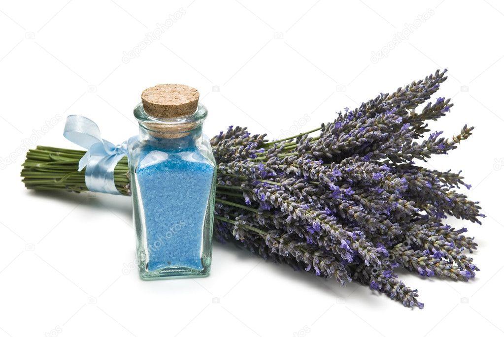 Lavender bath salts.