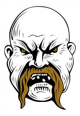 Evil man mask