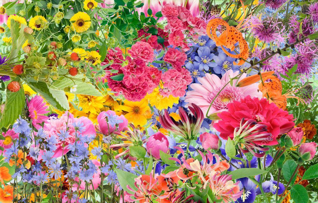 Summer collage mix - imagination
