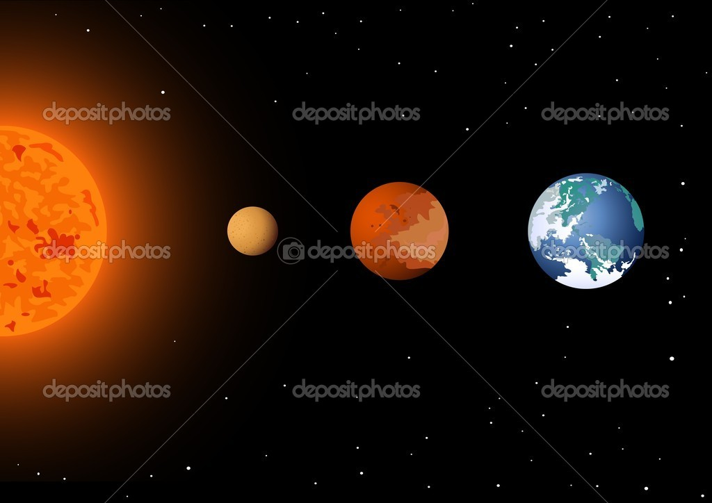 The United States of the Solar System, A.D. 2133 (Book Eight) - Page 4 Depositphotos_5560976-stock-illustration-sun-mercury-venus-and-earth