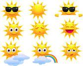 slunce kreslený