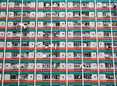 Hong Kong public housing apartment block