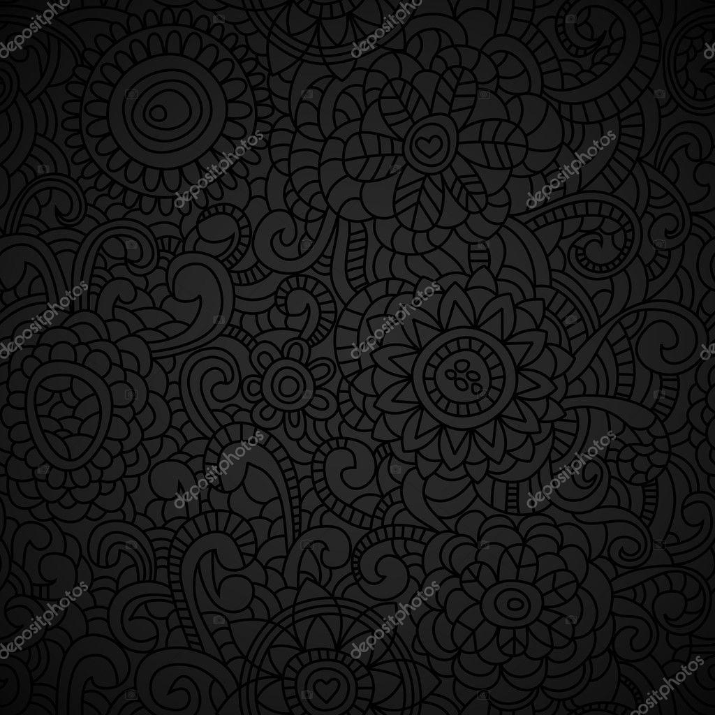 Elegant black wallpaper