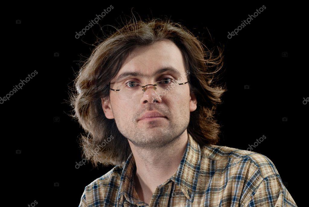 Porträt Der Hübsche Männer Stockfoto Shell114 5414475