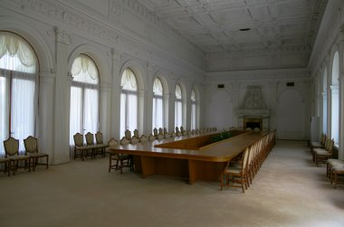 Hall in the Livadia Palace