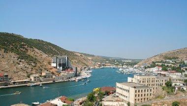 Balaklava Harbor. Crimea