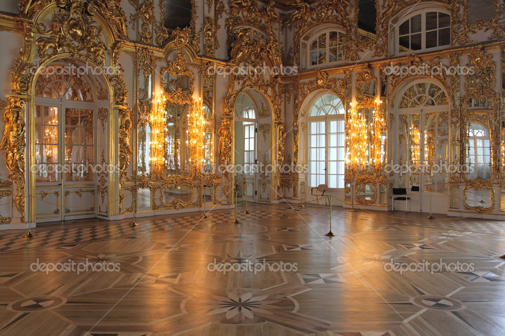 Salle Du Palais De Catherine Tsarsko 239 E Selo Pouchkine