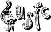 Fotografie Musik-Briefe
