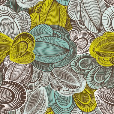 Abstract geometric decorative seamless pattern vector illustration clip art vector