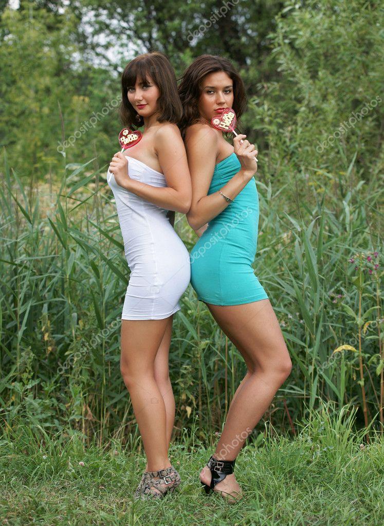 Imágenes Dulces Provocativos Hermosas Chicas Sexuales Con