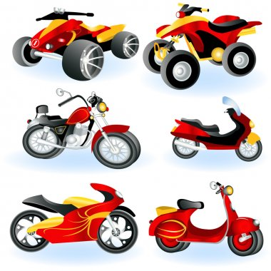 Motorcycle icons 2