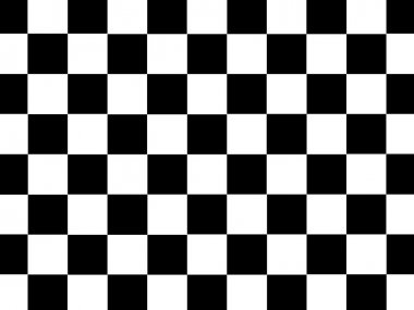 Checkered Illustration