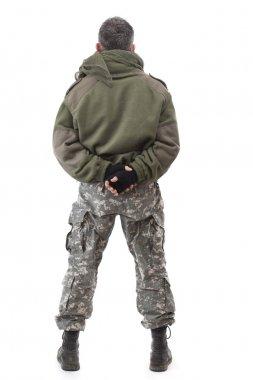 Terrorist standing