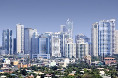 Fort bonifacio skyscrapers manila