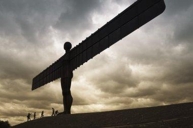 Angel of the north silhouette gateshead