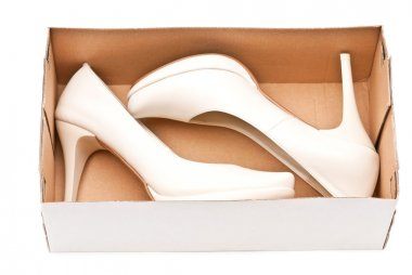 Shoes in box