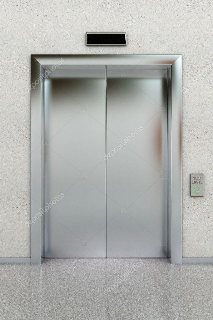 Closed Elevator Stock Photo 169 Creisinger 6165150