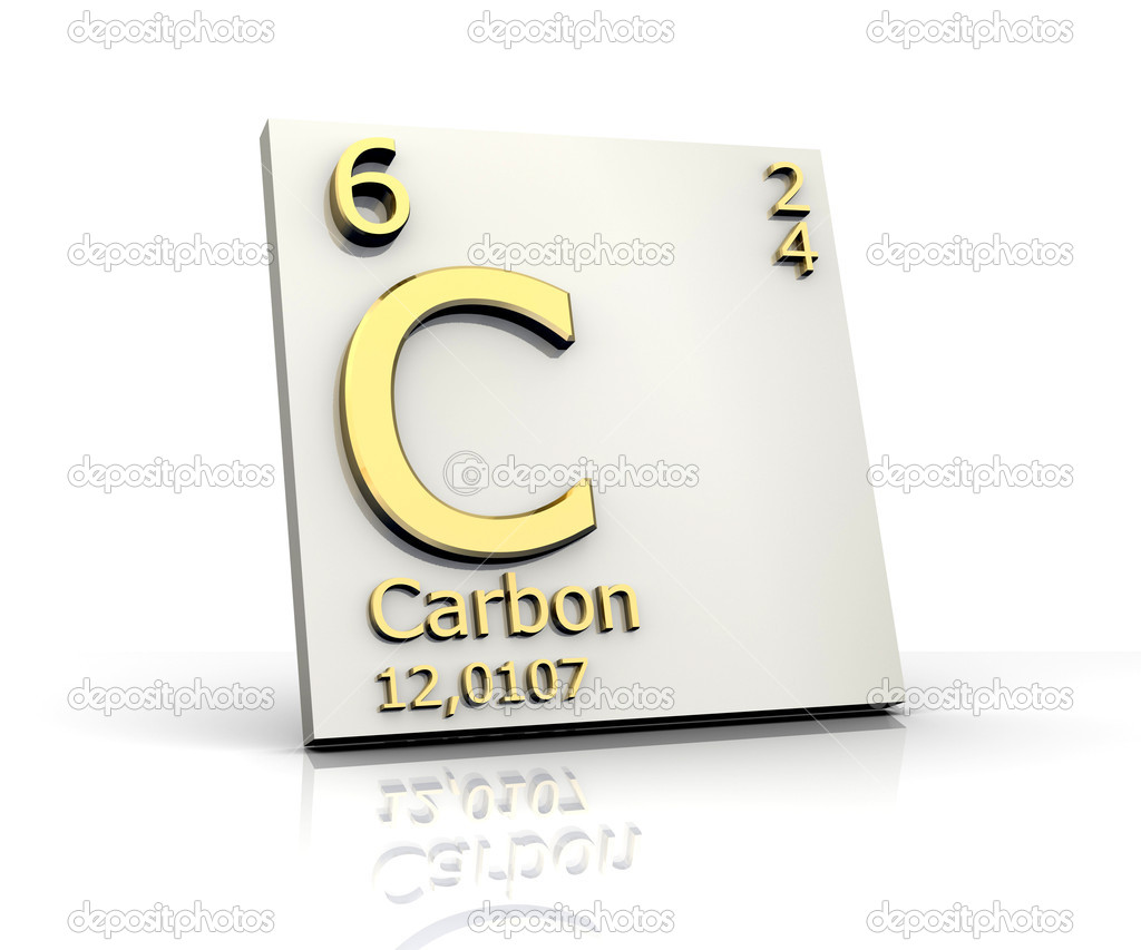 Carbon form periodic table of elements stock photo fambros 6284464 carbon form periodic table of elements 3d made photo by fambros urtaz Gallery