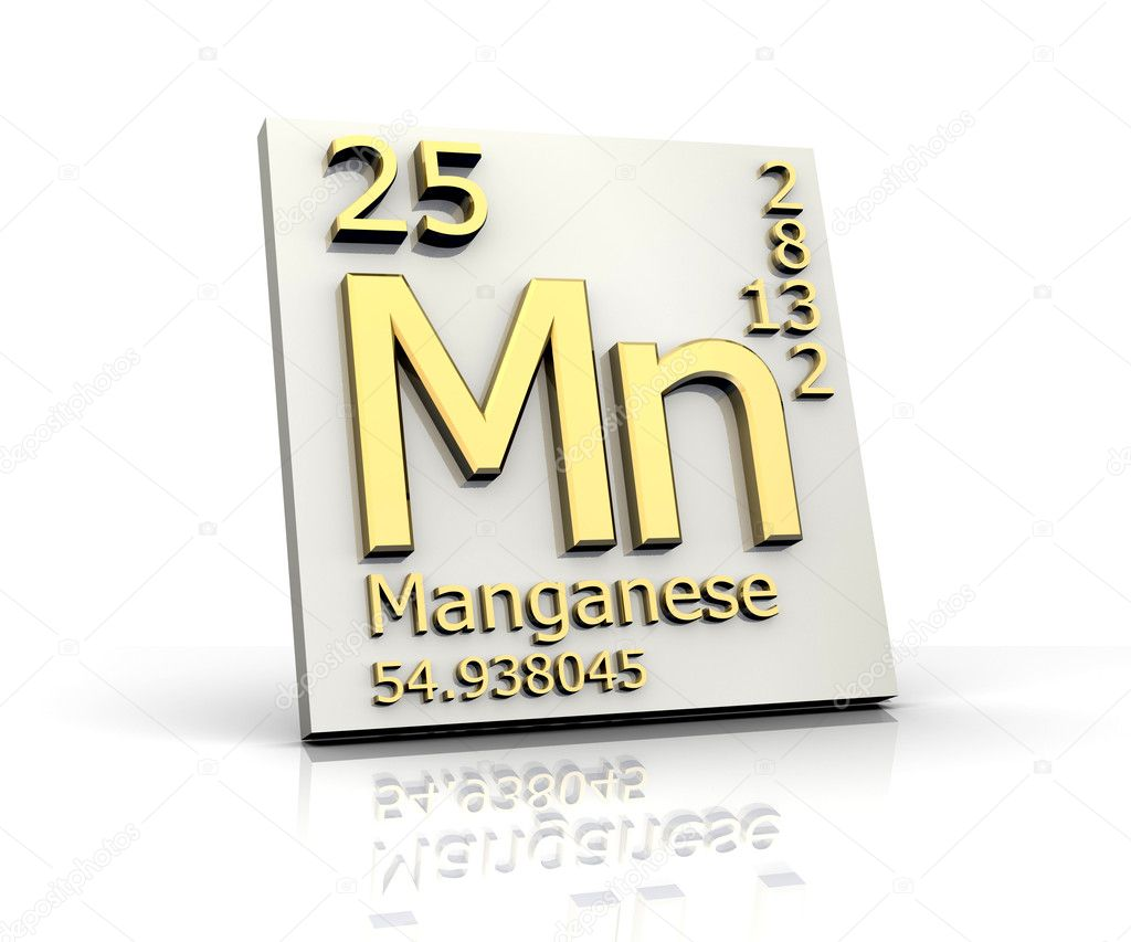Manganese form periodic table of elements stock photo fambros manganese form periodic table of elements stock photo 6284707 gamestrikefo Images