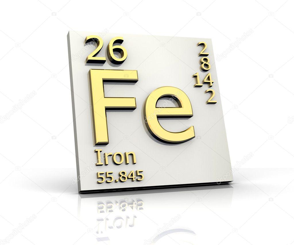 hierro forma tabla peridica de elementos foto de stock - Tabla Periodica De Los Elementos Hierro