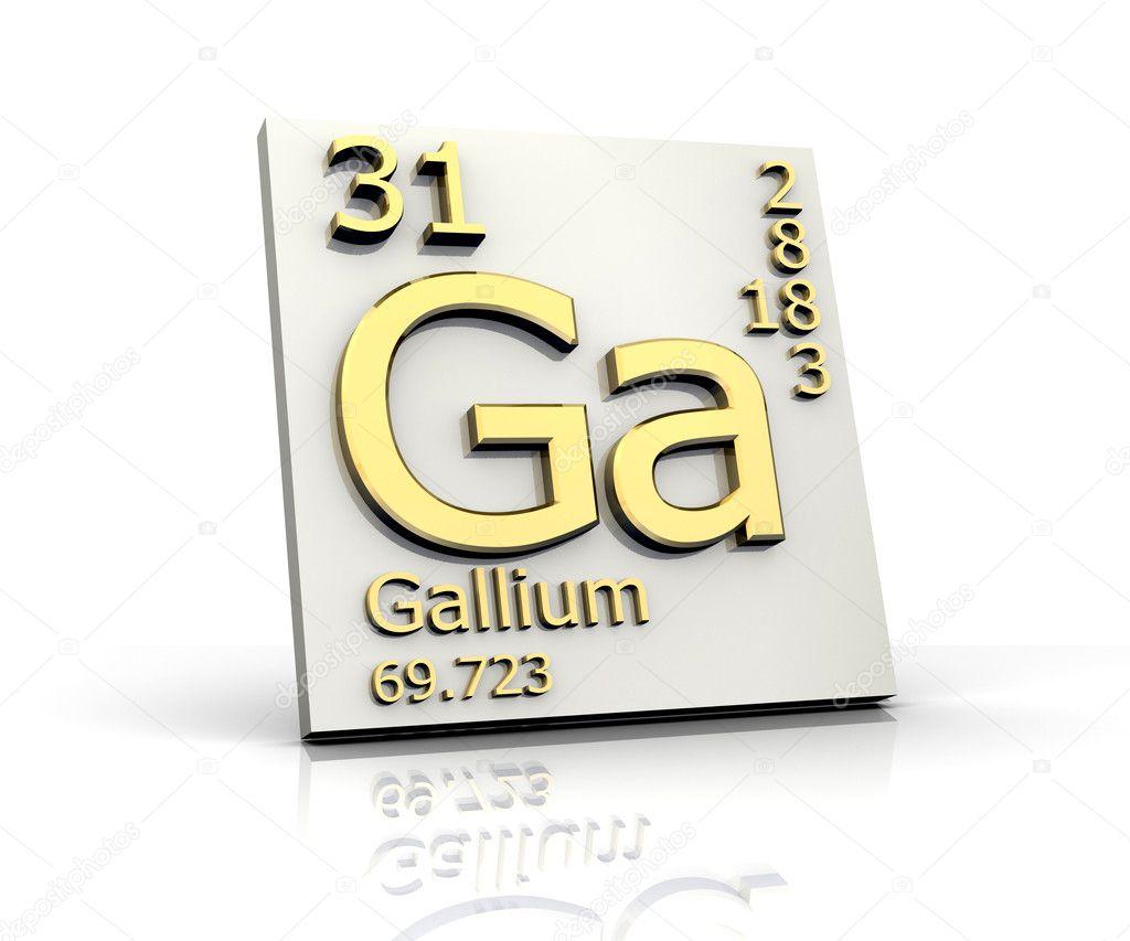 galio forma tabla peridica de elementos foto de stock - Tabla Periodica De Los Elementos Galio