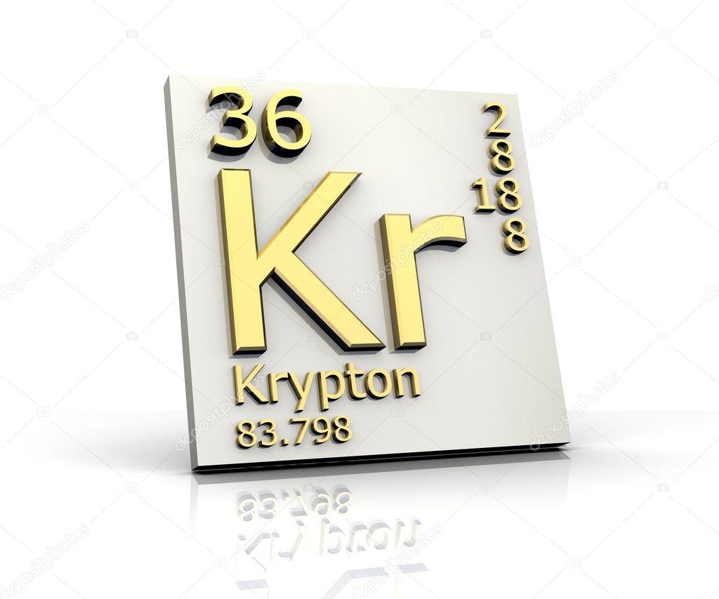 Kriptn forma tabla peridica de elementos fotos de stock kriptn forma tabla peridica de elementos fotos de stock urtaz Gallery