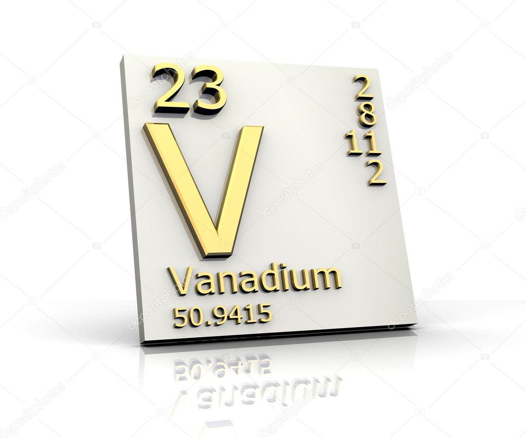 Vanadium form periodic table of elements stock photo fambros vanadium form periodic table of elements stock photo urtaz Choice Image