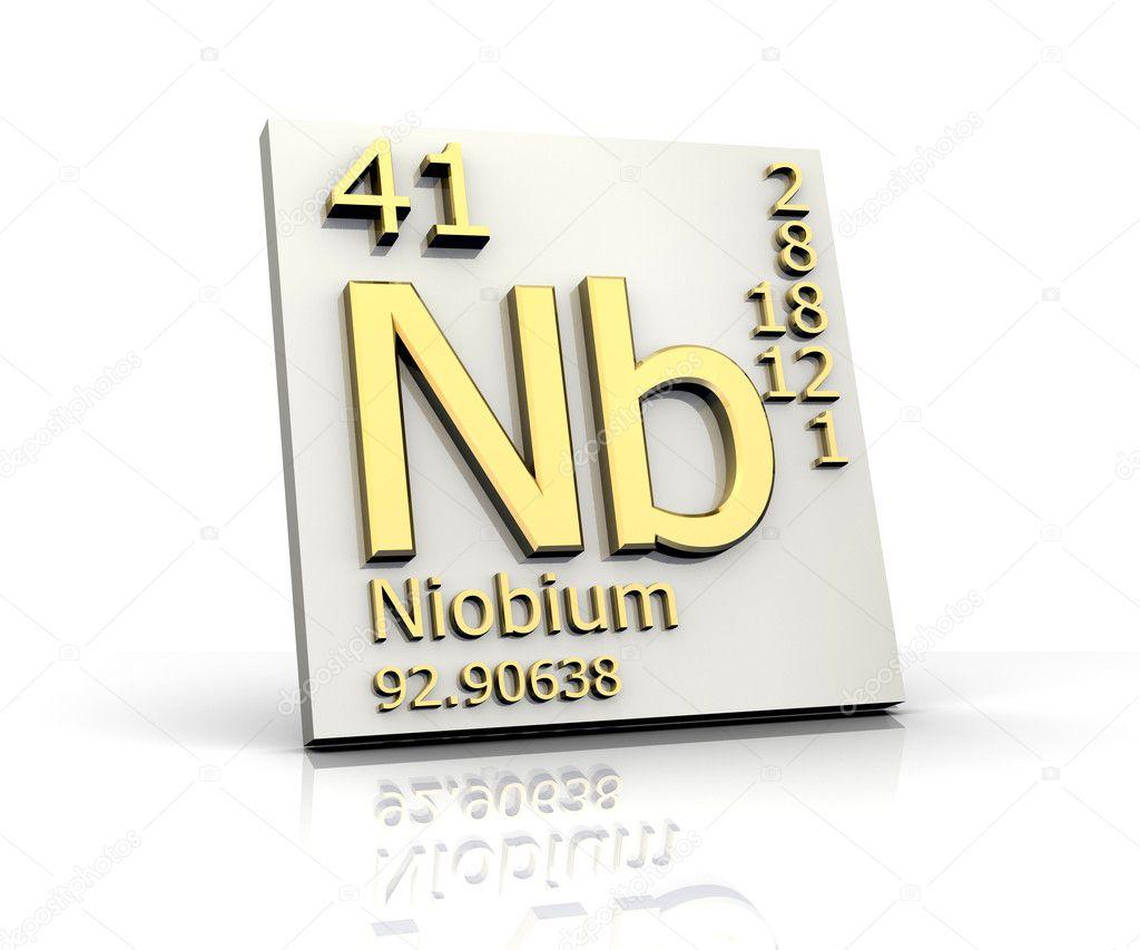 Niobium form periodic table of elements stock photo fambros niobium form periodic table of elements stock photo biocorpaavc