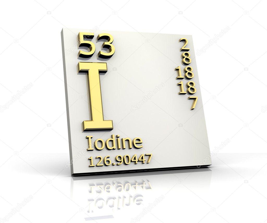 Iodine form periodic table of elements stock photo fambros 6285175 iodine form periodic table of elements stock photo urtaz Choice Image