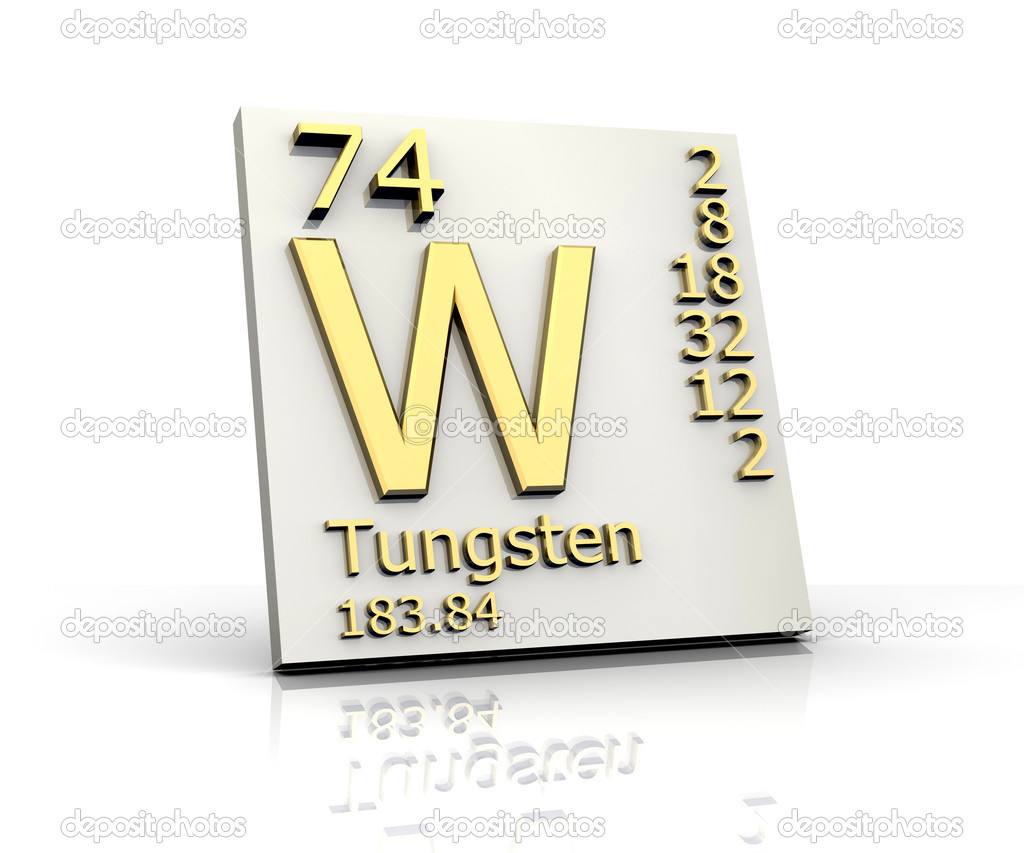 Tungsten form periodic table of elements stock photo fambros tungsten form periodic table of elements stock photo 6285364 gamestrikefo Choice Image