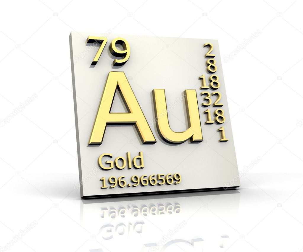 Gold form periodic table of elements stock photo fambros 6285434 gold form periodic table of elements stock photo urtaz Image collections