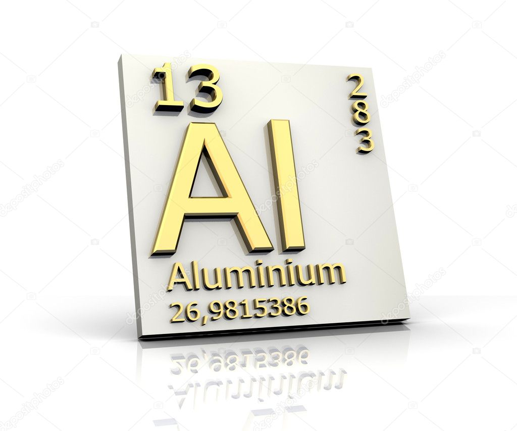 Aluminum form periodic table of elements stock photo fambros aluminum form periodic table of elements 3d made photo by fambros urtaz Gallery