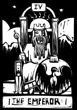 Tarot Card Emperor