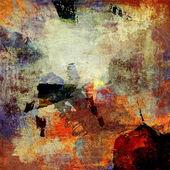 malované pozadí