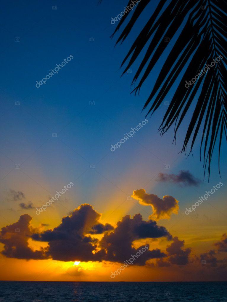Maldivian Sunset