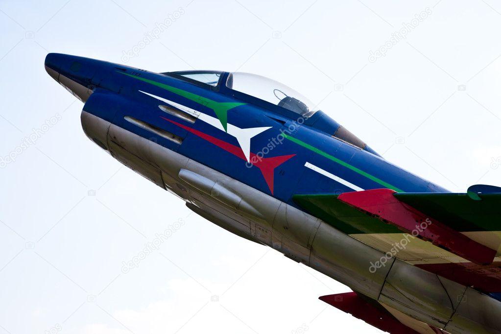 Acrobatic airplane: Italian Army
