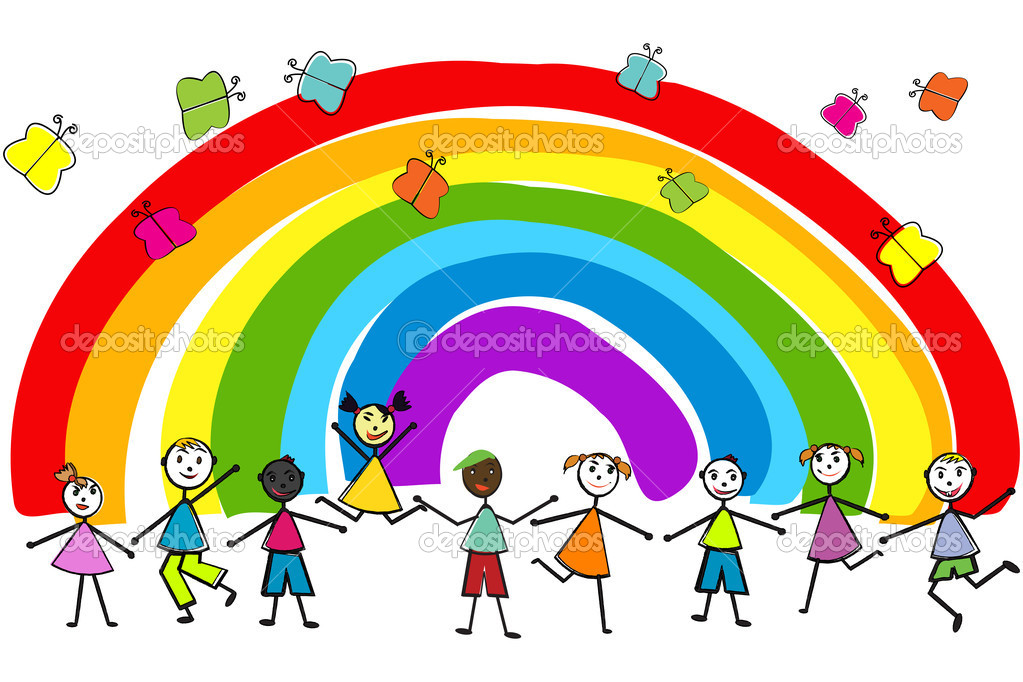 how to explain a rainbow to a child