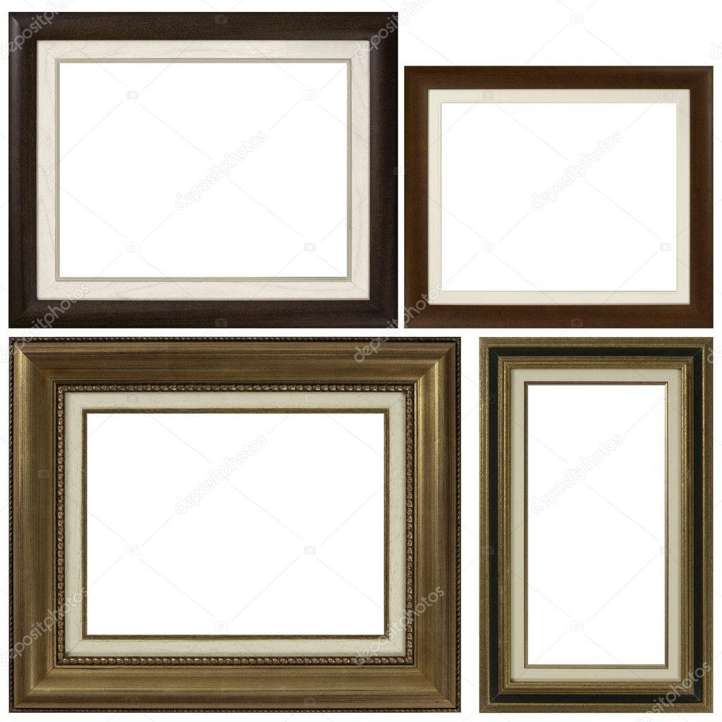 vier antiken bilderrahmen — Stockfoto © homydesign #5704505