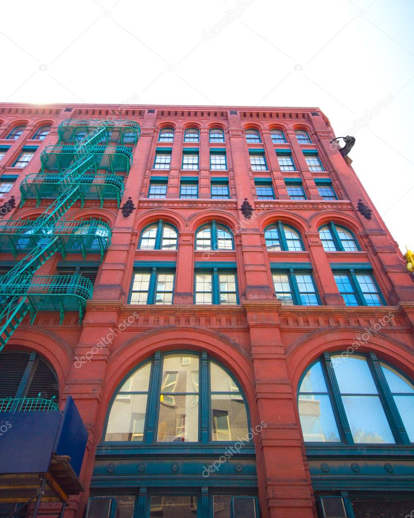 Delightful NYC Apartment Building U2014 Stock Photo #5794864